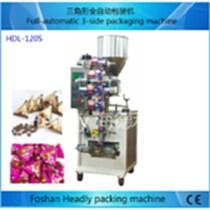 160B 小型立式鏈斗水果茶包裝機 散裝食品背封包裝機械設備