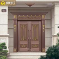 制作酒店、別墅、會所銅門|銅窗|銅扶手